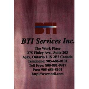 BTI services inc